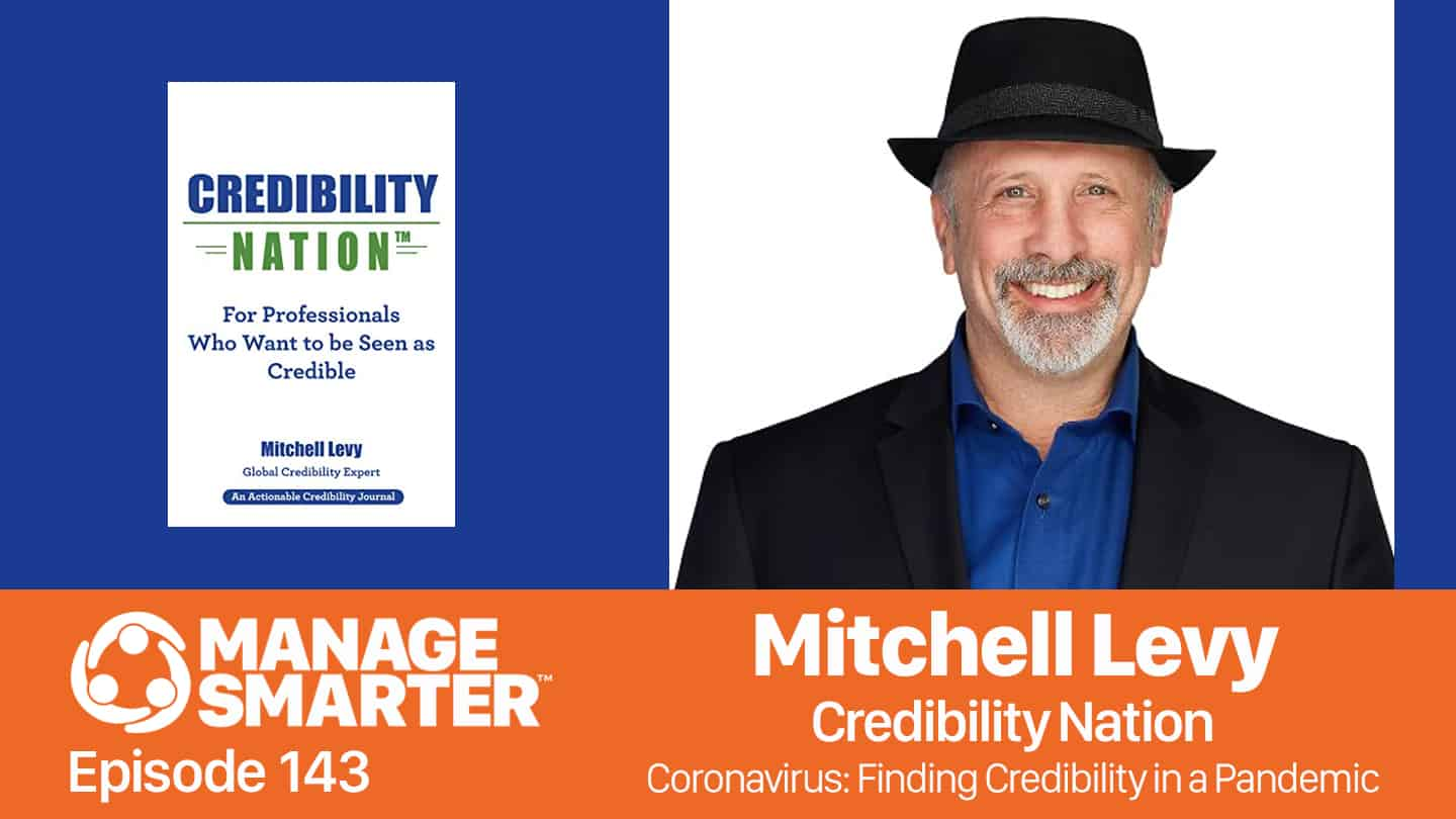 Mitchell Levy on the Manage Smarter podcast from SalesFuel