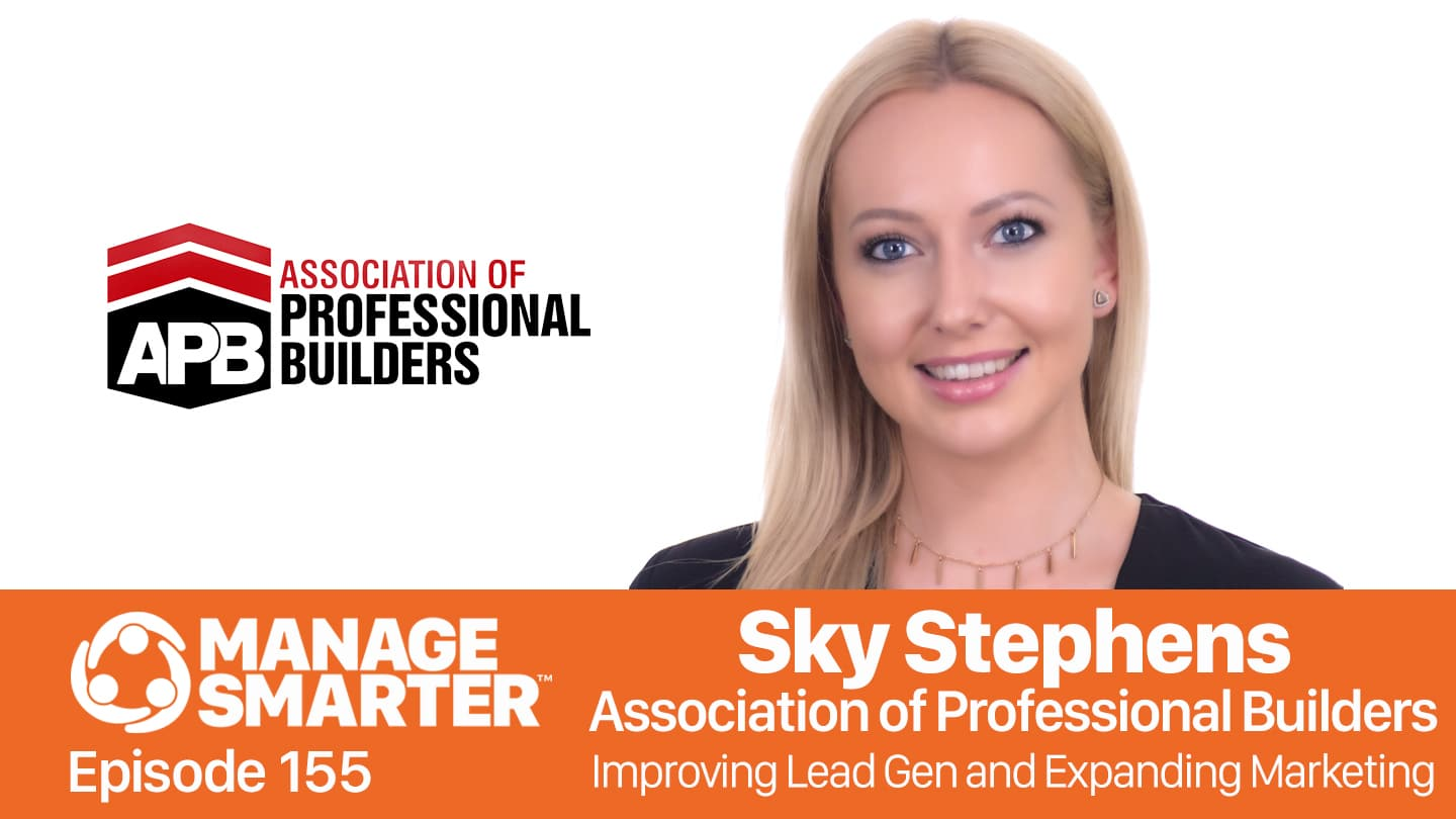 Sky Stephens on the Manage Smarter podcast from SalesFuel