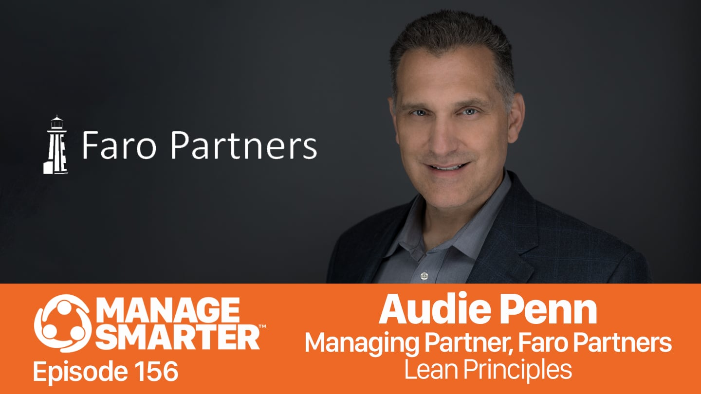 Audie Penn on the Manage Smarter podcast from SalesFuel